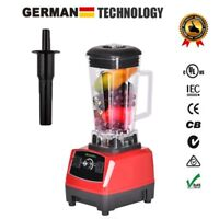 BPA Free 3HP 2200W Heavy Duty Commercial Grade Blender Mixer Juicer High Power F