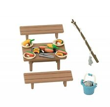 Epoch Sylvanian Families Cute Doll Accessory Furniture Barbecue Set From Japan