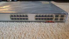 Cisco Ws-C3750G-24Pss-Rf 24 Port Gigabit Ethernet PoE Switch GigE + 4 Sfp