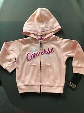 BNWT Girls Converse Hooded Jacket Age 9 - 12 Months