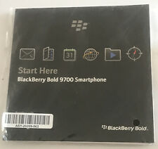 Blackberry Bold 9700 Smartphone Manual / Blackberry User Tools New/Sealed