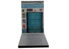 Diorama Garage Volkswagen ancien - 1/43ème - #43-2-V-X-009