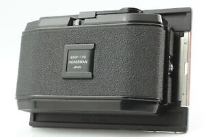 🔹Almost MINT🔹 HORSEMAN 6EXP 120 Roll Film Back Holder 6x12 4x5 from Japan