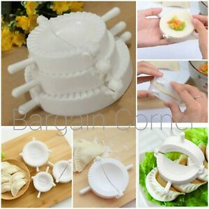 3Pc Dumpling Pie Ravioli Pastry Empanada Samosa Wrapper Mould Dough Cutter 3Size