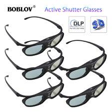 5X JX-30 3D Active Shutter Glasses DLP-Link For BenQ Dell Acer Samsung Projector