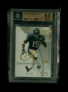 Andre Johnson 2003 UD ULTIMATE COLLECTION Rookie #/750! BGS 9.5 GEM MINT! Texans