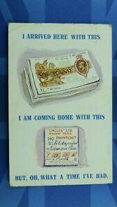 Comic Postcard 1931 Jewish Humour Pawnbroker Ticket UNCLES LTD One Pound Note £1