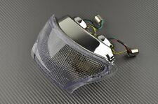 Luz trasera LED claro con señal vuelta integrado Triumph Daytona 955 1999 00 01