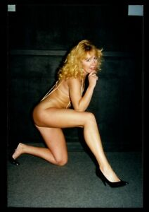 Vintage PINUP Color Photo 1980s SEXY EXOTIC DANCER