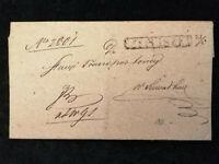 Vorphilatelie Altdeutschland - Brief Faltbrief   Rechnung     Nr.9