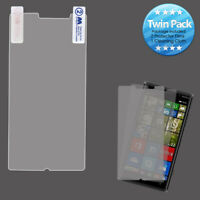 2x LCD Screen Cover Protector Film with Cloth Wipe for NOKIA Lumia 830