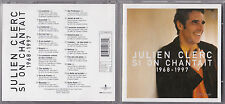CD 20T JULIEN CLERC SI ON CHANTAIT 1968 - 1997 BEST OF 1998 TBE