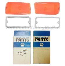 NOS Parking Lens & Gasket Set for 1964-1970 Dodge A100/A108 Trucks & Vans