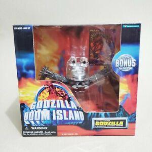 "1997 Trendmasters super rare Godzilla Doom Island ""BATTLE ARMOR KUMONGA"" figure"
