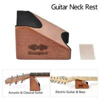 2In1 Guitar Neck Rest Support Electric Acoustic Guitar Bass Setup ToolAnti-slip