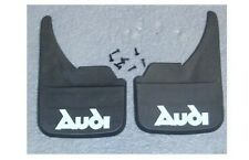 Audi Logo Universal Car Mudflaps Front Rear A8 Q3 Q5 Q7 Quattro Mud Flap Name