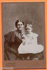 Grand Rapids, MI, Portrait of Mother & Child, by Noble, circa 1890s