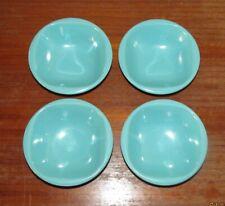 "New listing Four Vintage Turquoise Boontonware Bowl #1303–10 ~ 5.75"" x 1.75"" ~ Htf"