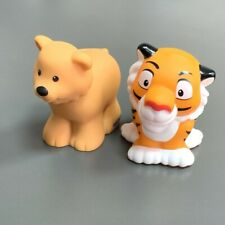 2X Fisher Price Little People animal series Tiger preschool Figure Toys gifts