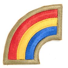 U.S. 42nd Infantry Division Shoulder Patch - Rainbow