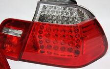 Vetro Chiaro LED Luci Posteriori Set BMW e46 3er BERLINA 01-05 Rosso Chiaro + FRECCE LED NUOVO