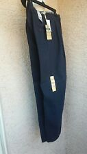 "Authentic"" Docker's Marina 24/7 Khaki Classic Fit Pleated Navy Blue Pants W30..."