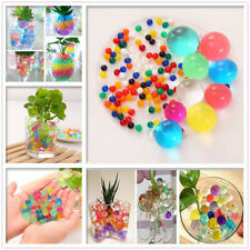 500pcs Crystal Soil Water Jelly Ball Beads Orbeez for Plant Flower Multi Color