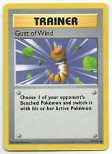 Gust of Wind - Shadowless - Base Set - 93/102 - Rare - Pokemon Card - Near Mint