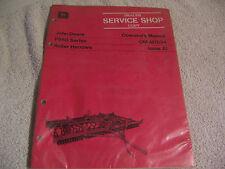 11847 John Deere Operators Manual F950 Series Roller Harrows
