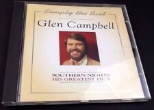 Glen Campbell Simply The Best Southern Nights CD 1995 Gentle On My Mind