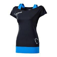 Atmungsaktive Damen-Sport-Shirts & -Tops mit Knopfverschluss vorne
