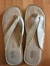 Good For The Sole Summer Leather Slippers size 5 uk/ eur 38