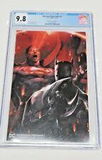 Batman/Superman #1 D.C. Comics 10/19 CGC Graded 9.8 Frankie's Comics Edition B