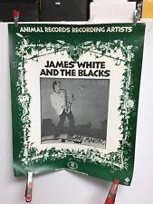 "James White and The Blacks ""sax maniac� 1982 Animal Records promo poster"