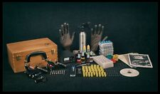 Kit De Tatuajes Set Completo Pro Power Supply Profesional Usa Tinta 3 x máquinas de Armas Reino Unido