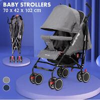Infant Baby Stroller Pushchair Folding Portable Pram Toddler Kids Travel