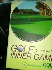 Golf's Inner Game_50-Card Deck_by Editors of Golf Magazine