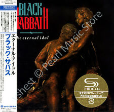 BLACK SABBATH THE ETERNAL IDOL DELUXE EDITION 2 CD MINI LP OBI Osbourne Iommi