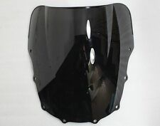 Black Windshield Windscreen for KAWASAKI ZZR600 1993-2004 / ZZR400 1993-2007