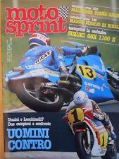 Motosprint 23 1982 Test Suzuki GSX 1100E - Uncini e Lucchinelli - Maddii [SC.31]