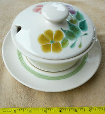 Franciscan FLORAL Gravy Bowl with lid and Saucer FREE shipping