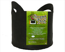 Smart Pots 10 Gallon w/ Handles - plant growing container black fabric