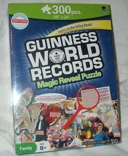 Guinness World Records Magic Reveal Puzzle 300 Pieces Family Age 8+ Sealed New