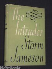 STORM JAMESON: The Intruder-Vintage Novel-HBDJ-1956-1st Vintage Fiction