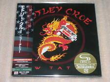 MOTLEY CRUE new tattoo+2 JAPAN mini lp SHM CD Vince Neil Nikki Sixx Mick Mars SS