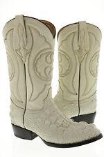 mens crocodile alligator hornback new biker cowboy boot western rodeo size 6.5