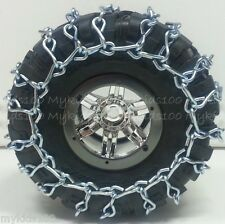 4 SilvrXT Snow Chains Fit AX12021 Axial BFGoodrich Krawler 2.2 Tires Wraith Yeti