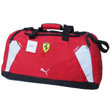 Puma Ferrari Replica Medium Team Bag Duffle Bag, Rossa Corsa, Red
