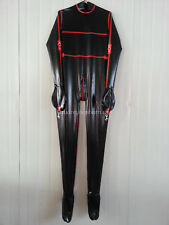 100% Latex Rubber Bound Bodysuit Tights Catsuit Fetish Size Latex Loves XXS-XXL