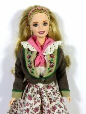 NEW DRESSED BARBIE DOLL 1998 DOLLS OF THE WORLD AUSTRIAN
